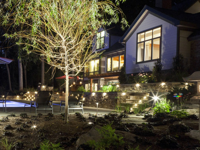 Outdoor Lighting Company Baltimore Maryland