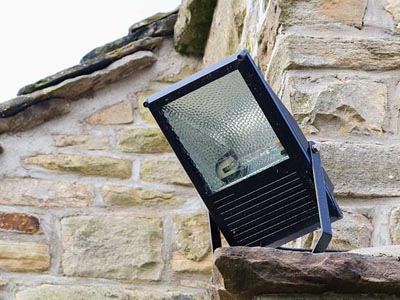 security lighting installation in Maryland